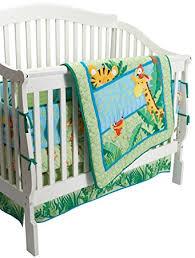 Rainforest Crib Bedding Fisher Price Rainforest Jungle Stripe 4 Crib