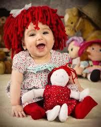 Etsy Newborn Halloween Costumes Etsy Raggedy Ann Beanie Wig Holidays Trick Treat Kids