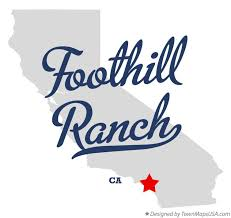 foothill cus map map of foothill ranch ca california