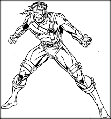 printable x men coloring pages for boys color zini