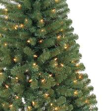 pre lit hillside pine artificial tree 4 ft
