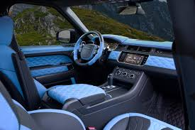 range rover interior mansory releases package for range rover sport