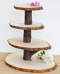 Wedding Centerpiece Stands by Best 20 Wood Cupcake Stand Ideas On Pinterest 2 Tier Cake Stand