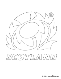 scotland rugby team coloring pages hellokids com