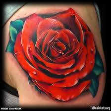 rose portrait by gary parisi chicago tattoo artists org