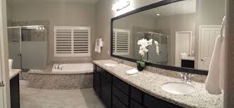 Mirror Ideas For Bathrooms Before And After Customer Bathroom In Las Vegas Frame My Mirror
