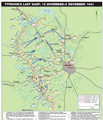 Moscow Map Battle Of Moscow Situation Maps Histomil Com
