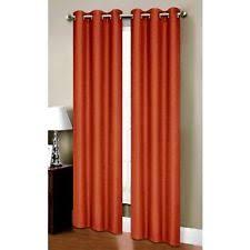 Orange Thermal Curtains Orange Thermal Curtain Ebay