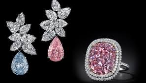 pink diamond earrings the power of pink diamonds history color record auction sales