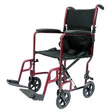 karman 17 inch aluminum lightweight transport chair 19 lbs
