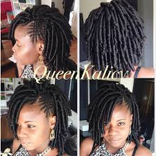 pictures of soft dred crotchet hairstyles crochet braids urban soft dread feed in braids purple motif