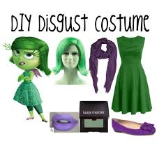 Inside Out Costumes Diy Disgust Costume Inside Out Polyvore