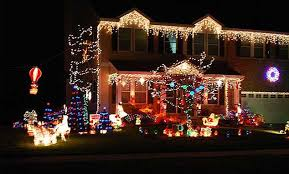houses with christmas lights near me ditto when you can t compete with your neighbour s christmas lights
