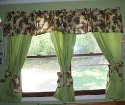 Curtains For A Kitchen by Raising 3 Dinosaurs Kitchen Curtains