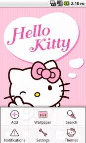 hello kitty themes for xperia c hello kitty pink heart theme android free download hello kitty