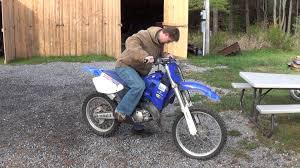 yamaha yz125 cold start fail yz u0027s status youtube