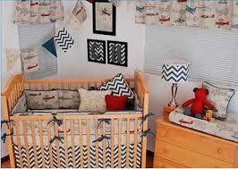 Airplane Crib Bedding Vintage Plane Crib Bedding 2pc Set