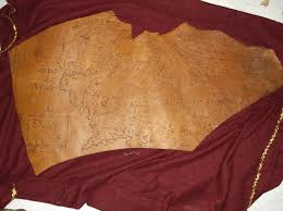 leather map leather map of middle earth lotr by jdravynsmoon on deviantart