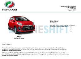 lexus es250 malaysia price list perodua price list in singapore oneshift