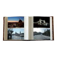 Slip In Photo Albums Photo Slip In Album Dune Travel Journal 6x4 5 Digital Hold 200 Prints