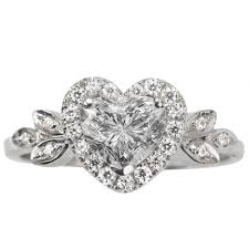 love shaped rings images Love blossom heart shaped diamond ring heart shaped engagement rings jpg
