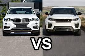 mercedes land rover white 2016 range rover evoque vs 2016 bmw x6 design youtube