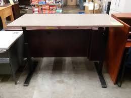realspace magellan height adjustable desk sit or stand height adjustable standing desk sold out a m office