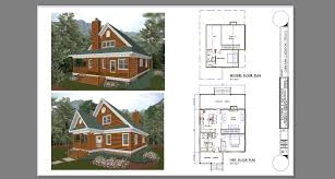 cabin plan bachman associates architects builders cabin plans part 6