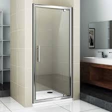 Shower Hinged Door Shower Enclosures Shower Doors Bathrooms 365