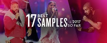 17 best samples used in 2017 so far