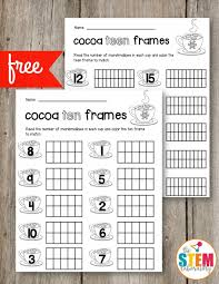 all worksheets ten frame worksheets free printable worksheets
