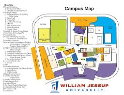 San Jose State Campus Map by William Jessup Rocklin Campus Map Maplets