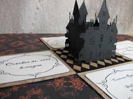 3d halloween invitations