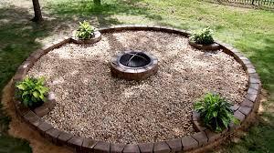 Diy Backyard Fire Pit Ideas by Garden Design Garden Design With Cozy Diy Outdoor Fire Pit Video