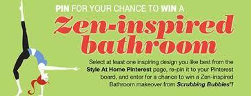 Win A Bathroom Makeover - scrubbing bubbles zen contest i love scrubbing bubbles products