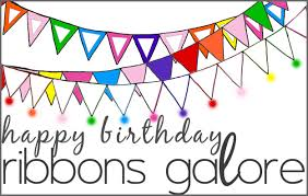 birthday ribbons ribbons galore is 7 years ribbons galore your online