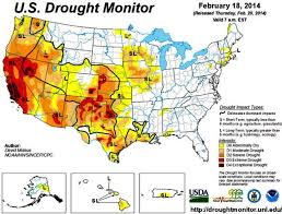 california drought map january 2016 drought monitor february 18 wildfire today