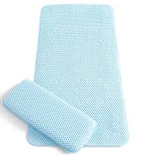 Blue Bath Mat Amazon Co Uk Bath Mats Home U0026 Kitchen