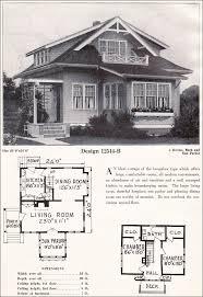 antique home plans small bungalow cottage plan c l bowes company c 1923