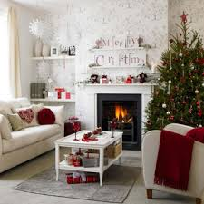 decorations inspiring small christmas living room idea featuring