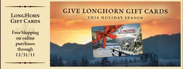 longhorn gift cards couponing buy a 25 longhorn steakhouse gift card