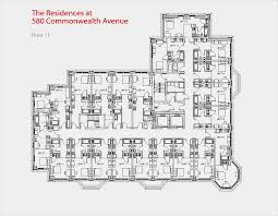 Narrow Apartment Floor Plans by Small Apartment Building Floor Plans And Floor Plan For 11th Floor