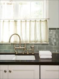 kitchen light gray glass subway tile stainless steel kitchen