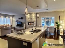 salon et cuisine aire ouverte cuisine et salon aire ouverte mobilier décoration