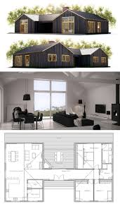 simple farmhouse floor plans best 25 narrow lot house plans
