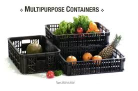 Jual Keranjang Container Plastik Bekas keranjang plastik pallet plastik baru dan bekas