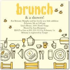 baby shower brunch invitation wording baby shower brunch invitations sweetkingdom co