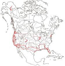 Map North America New Map Plots North Americas Bounty Of Rivers Wired North America