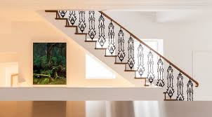 Iron Grill Design For Stairs Collection In Grills Stairs Design New Home Designs Latest Modern