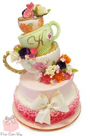 kitchen tea cake ideas totally terrific teapot cakes pink cake box
